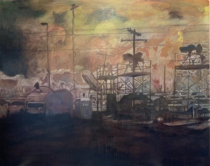 Oil on canvas 152x122cm